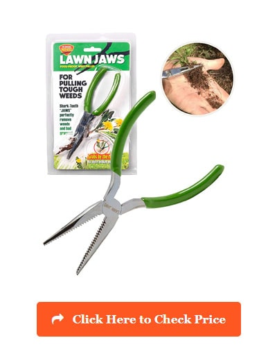 Lawn Jaws the Original Sharktooth Weed Puller and Remover