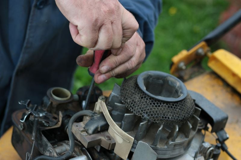 How Often to Grease Mower Spindles